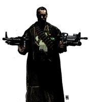 Punisher Frank Castle Colour by unknownguyver81