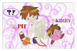 Pit And Kirby by Kirps