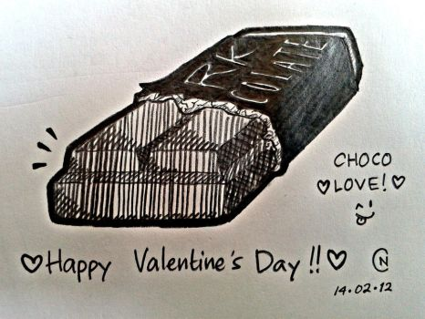 Chocolate Love! by astronomylover93