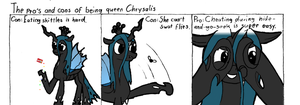 Cyanide and Chrysalis by Livingpixel