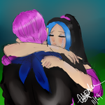 Trunks And Shelly by Animeturtlecakes98