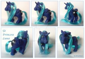 My little Pony Custom Princess Luna by BerryMouse