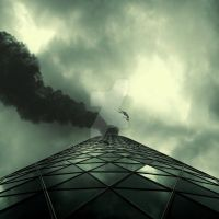 'the roof... by BaxiaArt