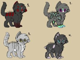 Cat Adopt Batch (OPEN!) by TalonsAdopts