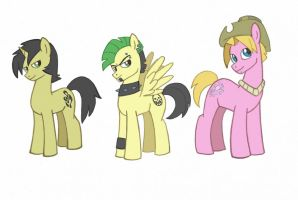 Total drama in My little pony style 2 by kikaigaku
