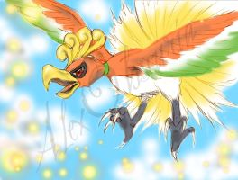 Ho-oh by AlexObscuria