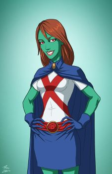 Miss Martian [Titan] (Earth-27) commission by phil-cho