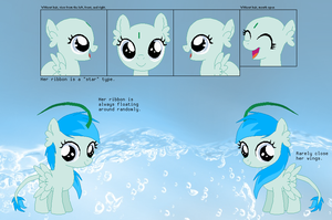 Reference sheet - Ocean Mist by Derpyna
