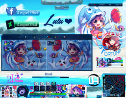 HUD Lulu Pool Party League of Legends by LeagueOfHud