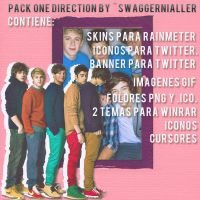 Pack One Direction by SwaggerNialler