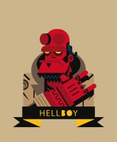 Hellboy by Helbetico