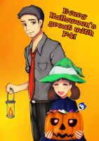 It's the Pyro Nanako, Charlie Brown by funnbunns