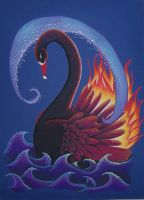 Black Swan as Firebird by Ravenari
