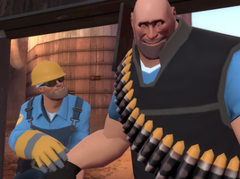 Engineer and Heavy by CaressOfVenus
