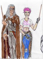 Mad Eye and Tonks by theaven