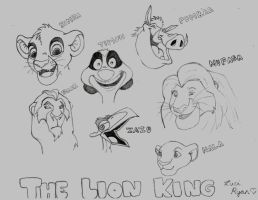 The Lion King Characters by luci123