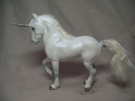 """Frost""  ooak unicorn by AmandaKathryn"