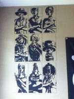 be my NAKAMA! Wall Art by Blazershiroh