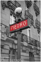Le Metro Parisien by red-liight