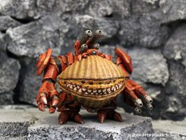 3D printed  Seashellbot by hauke3000