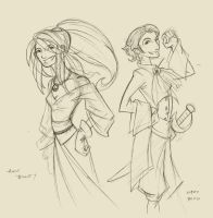 Anne and Mary by CapnFlynn