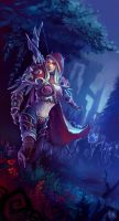 The Dark Lady, Sylvanas. by Koni-art