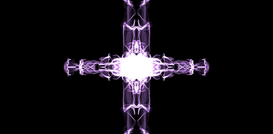 Purple Cross by millyfan224