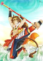 T.O.B Contest Entry 1 - Sun Wukong by Marini4