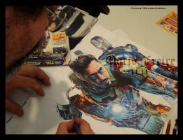 Iron Man Wip III by mario-freire
