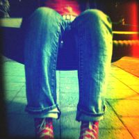 Holga Print 15 - Red Shoes 1 by uselessdesires