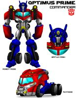 Tech-Hero Optimus by Jochimus