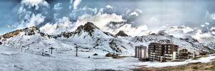 Tignes 2010 panorama07 by Siccie