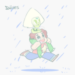 Peridot and Steven by Diives