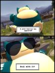 A  wild Snorlax appears by muetank