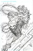 Ghost Rider Pencils by CliffEngland