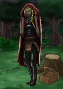 red riding hood by Knechthilde