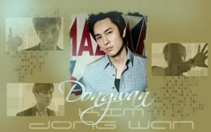 Dongwan wallpaper by Nicolca94