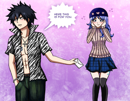 This is for You, Juvia. by Inspired-Destiny