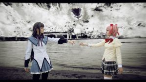 Madoka Magica - You're not alone by FirehawkCosplay