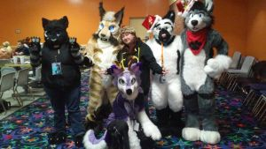 Fur Bowl Meet 2014 Group Photo by BlueWaterRose