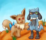 current mystery dungeon team by sapph96