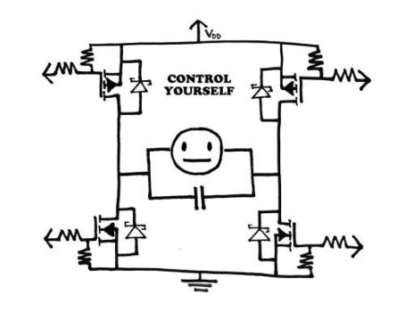 Control Yourself circuit by tedbergeron