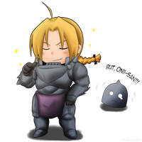 Yeah, I'm the Fullmetal Alchemist by KujaEx