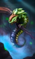 Malachite Lizard by Allord