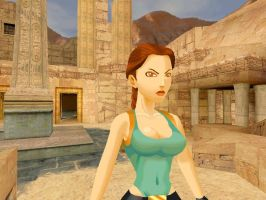 Lara Croft from Tomb Raider IV by saturn0729