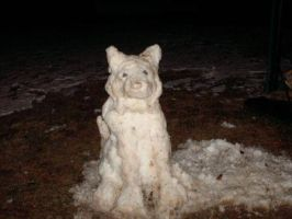snow storm my snow dog by trogdor324
