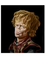 Tyrion Lannister/ Peter Dinklage caricature by robtheR0B0T