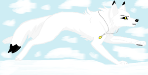 Dovelin Cloud (Wolf Form) by youngni