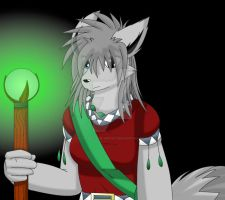 Anso The Wolf. by Zander-The-Artist