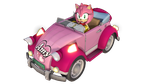[MMD] Pink Cabriolet DL (Amy's Car) by YelenBrownRaccoon